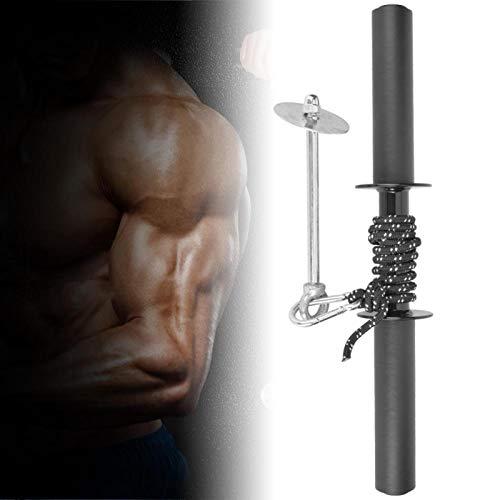 DAUERHAFT Equipo de Fitness Durable Longitud Ajustable Negro para Entrenador de antebrazo(Wrist Machine)