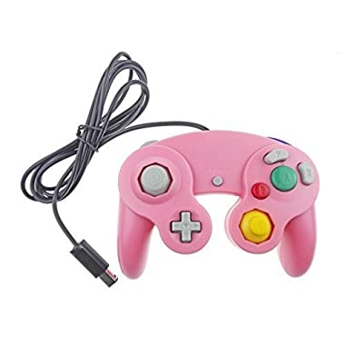 Gamecube Controller Compatible with Nintendo Gamecube Pink