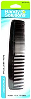 Handy Solutions Handy Black Pocket Comb, 1 each Packages (Pack of 48) [並行輸入品]