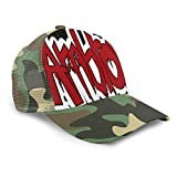 LANDOO Dean Ambrose Baseball Cap Unisex Men Mountain Hat Adjustable Moss Green
