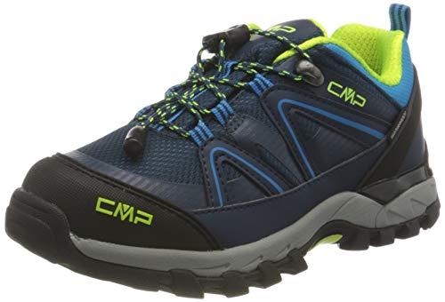 CMP Kids SHEDIR Low Hiking Shoes WP Walking Shoe, Blue Ink-River, 37 EU