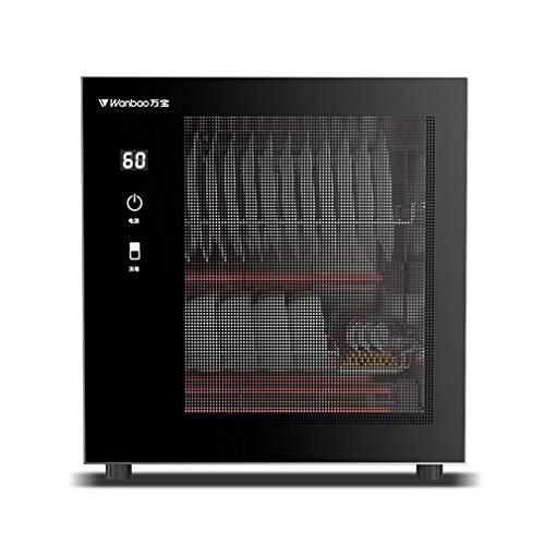 ZXF- Armario De Desinfección De Escritorio para El Hogar Armario De Desinfección De Cocina Pequeño Armario De Almacenamiento De Vajilla De Esterilización De Alta Temperatura