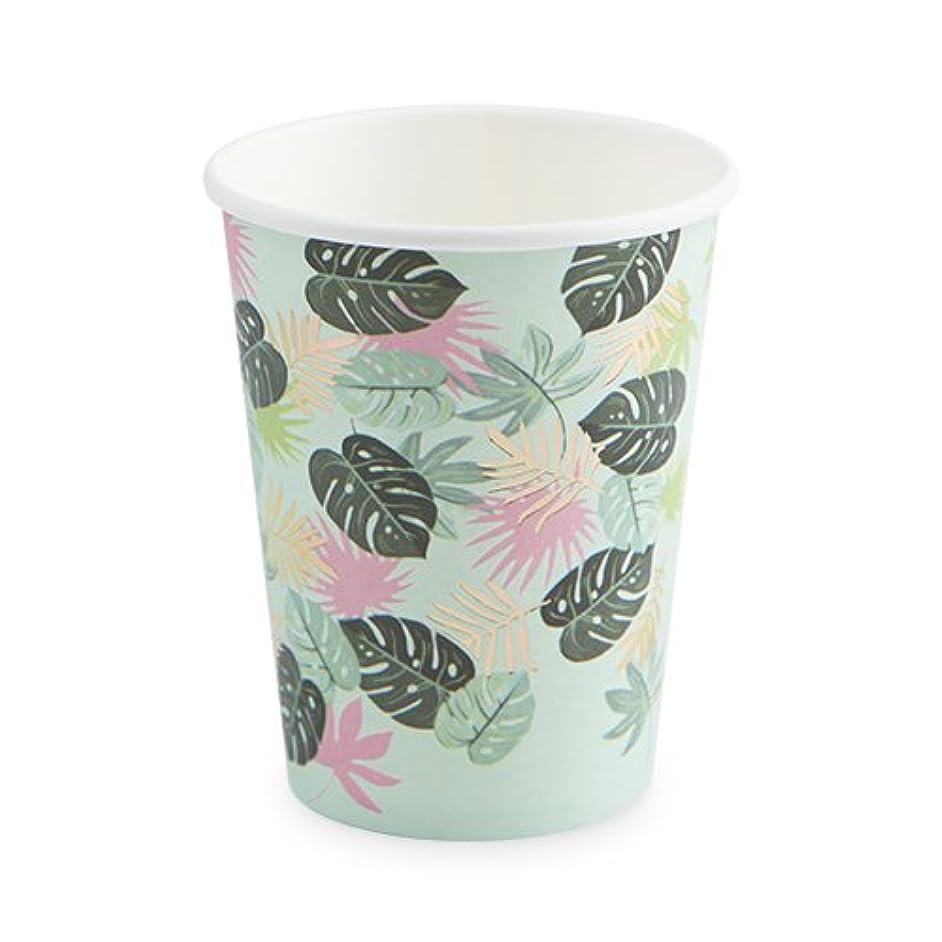 Cakewalk 6519 Monstera Disposable Cups, Multicolor