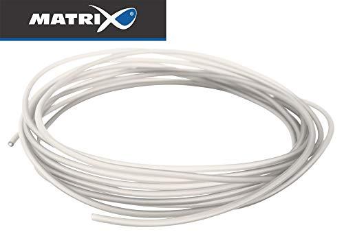 Fox Matrix Pole Float Silicone 1m - Gummischlauch zur Befestigung von Posen, Gummi Schlauch für Stippposen zum Friedfischangeln, Durchmesser:0.4mm