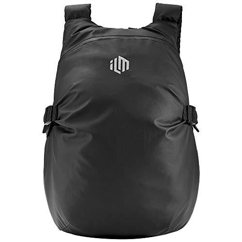 ILM Motorcycle Helmet Backpack Large Capacity Waterproof Lightweight Storage Bag with Reflective Stripe