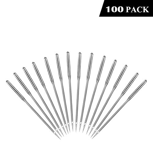 Why Choose Malbaba Universal Regular Point Sewing Machine Needle, 50 Count/Set, Assorted Sizes, 65/9...