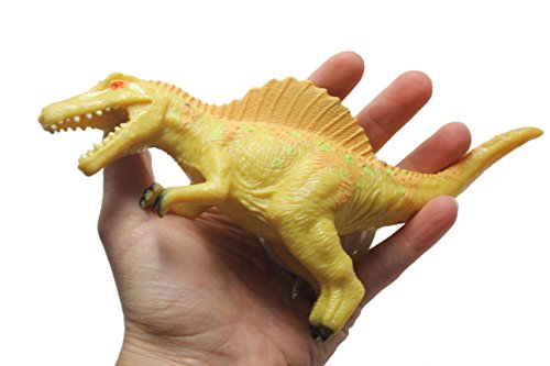 Curious Minds Busy Bags Squishy & Stretchy Large Dinosaur Toy - Sensory Fidget (Yellow)