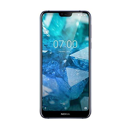 """Nokia 7.1 - Smartphone de 5.84"""" (Qualcomm Snapdragon 636 1.8 GHz, RAM de 3 GB, 32 GB, cámera Dual de 12+5 MP, Android 8.0), Blu"""