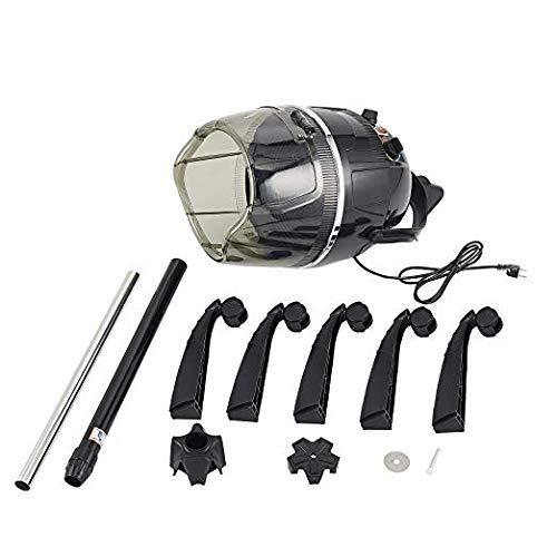 SalonStar Adjustable Hooded Floor Hair Bonnet Dryer Rolling Base with Wheels Salon Beauty Tool