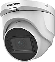 Hikvision 5MP 4-in-1 Turbo HD IR IP67 Rated (Outdoor/Indoor Use) Mini-Dome Camera DS-2CE76H0T-ITMF with 2.8mm Fixed Lens Compatible with Hikvision 4MP 5MP 8MP 4K TVI DVR