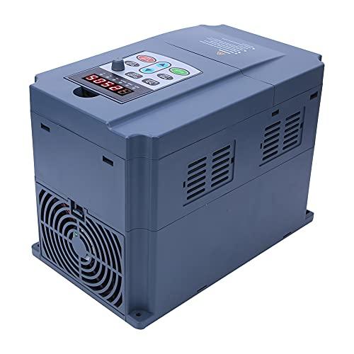 Inversor de frecuencia variable actual, 2.2kW AC220V a AC380V 246 x 179 x 150 mm unidad de frecuencia variable con plástico