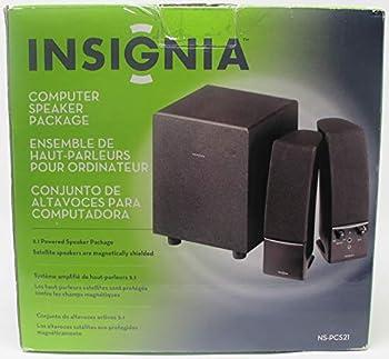 Insignia 2.1 Computer Speaker System NS-PCS21