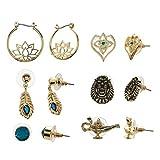 6-Pack Aladdin Accessories Princess Jasmine Earrings
