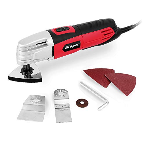 %5 OFF! Hi-Spec 2.0A (240w) Oscillating Multi Purpose Oscillating Tool with Variable Speed Switch an...
