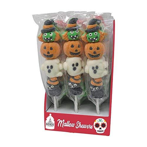 Bonds Halloween Marshmallow Pops Mallow Pop Skewers Sweet Sweets Lollipops