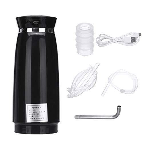 MJJEsports 5V 5W Eléctrico Automático Botella Dispensador De Agua De La Bomba Para Oficina En El Hogar - Negro