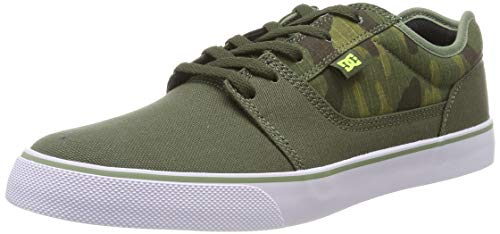 DC Shoes Herren Tonik Tx Se Low top Shoes for Men Skateboardschuhe, Olive Camo, 45 EU