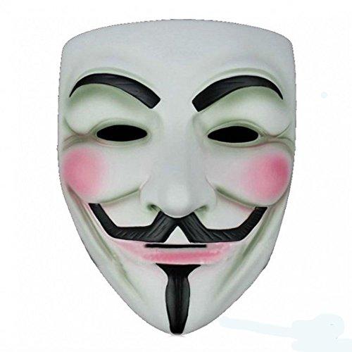 Komonee V para Venganza Adulta Disfraz de Halloween Mscara (Pack of 1) (HM24)