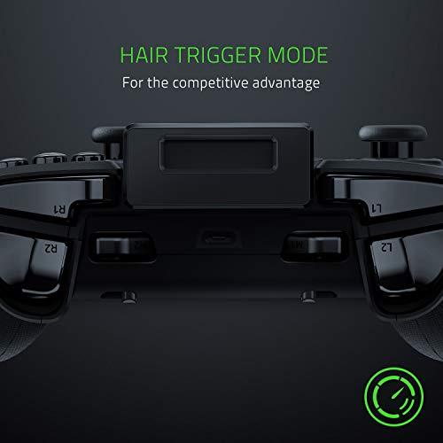 Razer Raiju Mobile: Mobiler Gaming-Controller für Android (Ergonomisches Layout mit Multifunktionstasten, Hair-Trigger-Modus, Verstellbare Smartphone-Halterung, Konfiguration über mobile App)