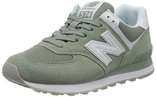 New Balance Damen 574v2 Sneaker, Grün (Green OAD), 35 EU