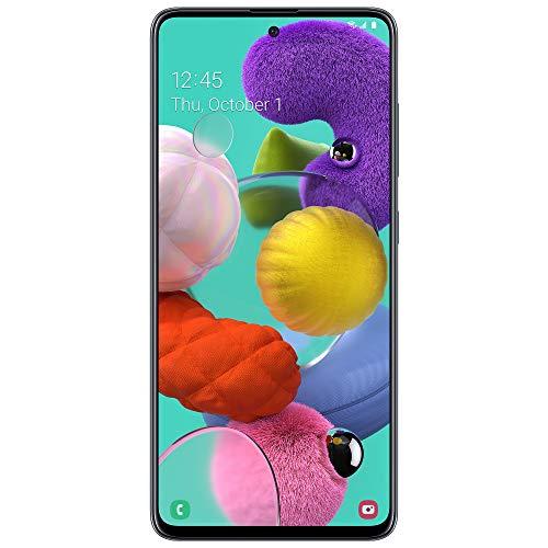 Tracfone Teléfono inteligente prepago Samsung Galaxy A51 4G LTE (cerrado) - Negro - 128GB - Tarjeta SIM incluida - CDMA
