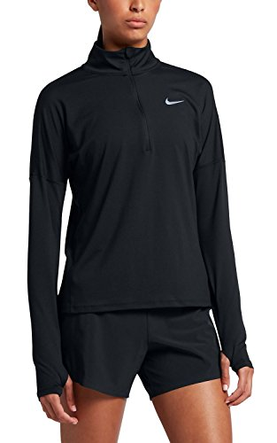 Nike Women s Dry Element Running Top Black Size Small