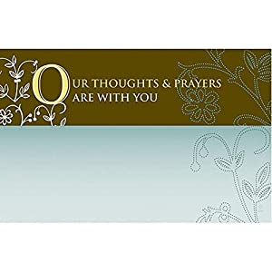 """50 Sympathy""""Thoughts & Prayers"""" Lilly Flowers"""