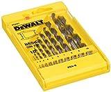 DeWalt HSS-G DIN 338 Jobber Metal Drill Bit Set