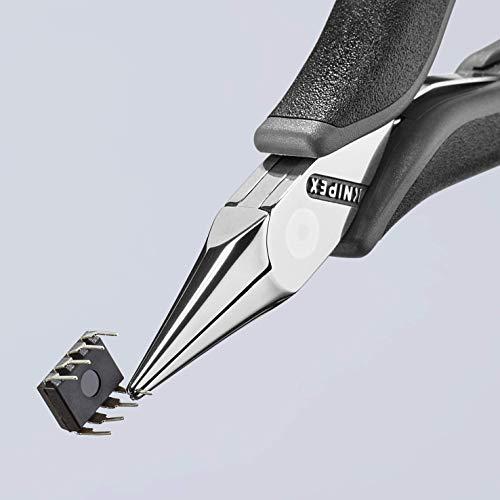 Knipex 35 32 115 ESD Elektronik-Greifzange ESD mit Mehrkomponenten-Hüllen, 115