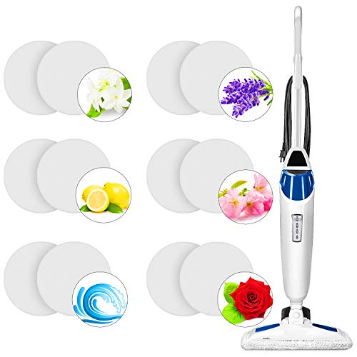 Steam Mop Scent Discs Replacement Mint Flavor Fragrance Scented Pads Practical Steam Mop Fragrance Discs Fits Model 1940 30 Pieces 1806 and 1132 Compatible with Bissell Powerfresh Steam Mop