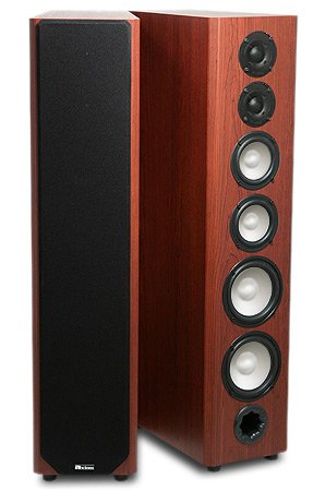 Check Out This M80 Floorstanding Speaker - Boston Cherry