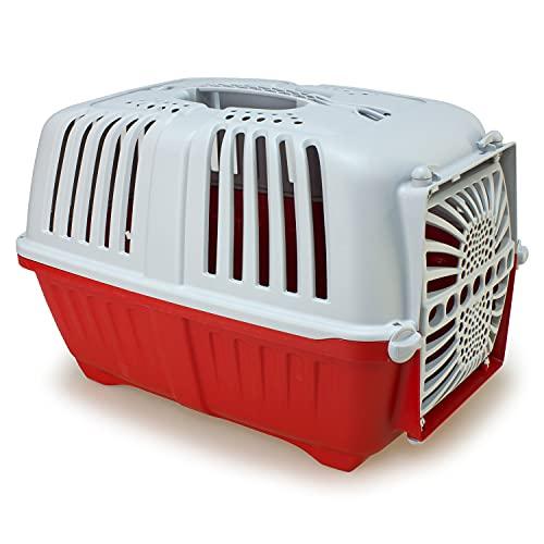 Arquivet Transportin Pratiko - para Mascotas pequeñas - Transporte de plástico para tu Mascota - Perros Adultos, Cachorros, Gatos y Otros - 48 x 31,5 x 33 cm