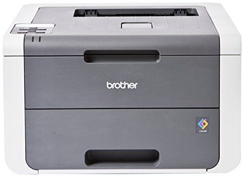 Brother HL-3140CW Farblaserdrucker (USB 2.0, WLAN) grau/weiß