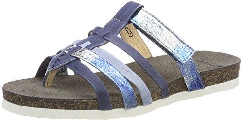 Think! Damen Shik_282591 Geschlossene Sandalen, Blau (Jeans/Kombi 84), 40 EU