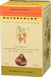 Naturcolor 8R Light Turmeric Blonde Hair Dyes, 4 Ounce