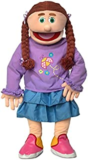 """30"""" Amy, Peach Girl, Professional Performance Puppet with Removable Legs, Full or Half Body"""