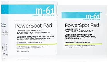 M 61 PowerSpot Pads 10 Treatment 1 minute 1 step clarifying treatment pad with salicylic tea product image