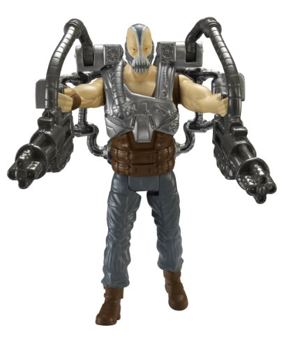 Batman - Figurine - Dark Knight Rises - Quick Tek Arsenal - Bane Menace Venin - Batman licence officiel