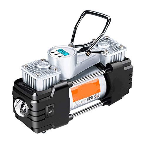 WNN-URG Neumático del Doble Cilindros, Metal 12V de la Bomba del compresor de Aire for el Coche, neumáticos SUV, Bote, Colchón Inflable Etc URG