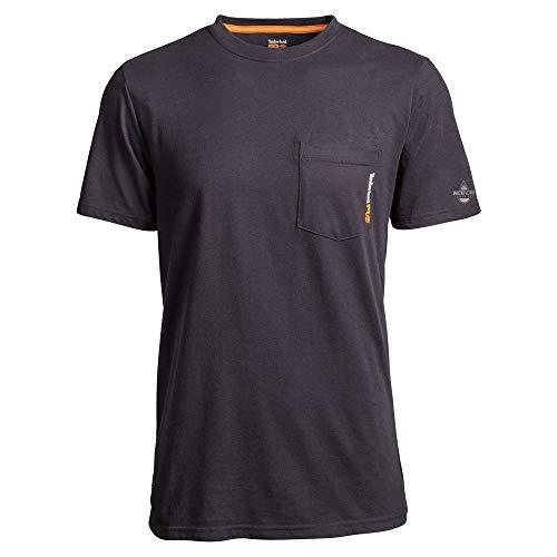 Timberland PRO Camiseta de manga corta con placa base para hombre -...
