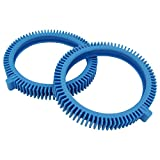 YEECHUN 2-Pack 896584000-143 Replacement Pool Cleaner Front Tires with Super Hump, Fits for Poolvergnuegen Parts 2X, 4X, Pressure Wheels