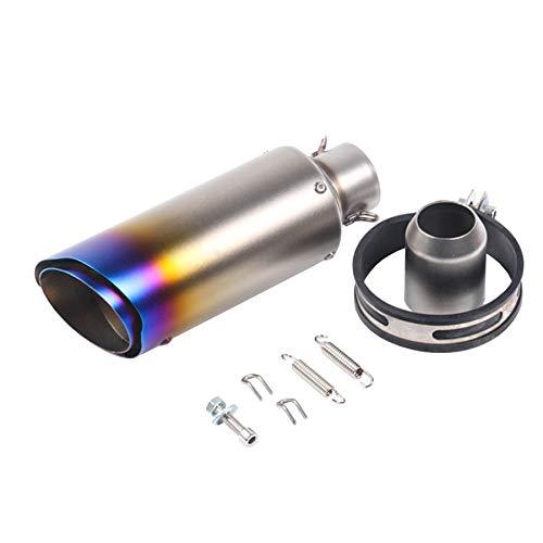 KAJIMOTOR Universal Short Motorcycle Exhaust Muffler Tips Exhaust...