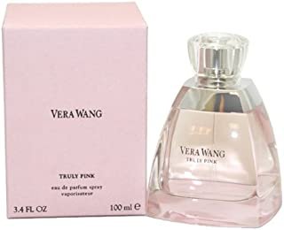 Vera Wang Truly Pink By Vera Wang For Women, Eau De Parfum Spray, 3.4-Ounce Bottle