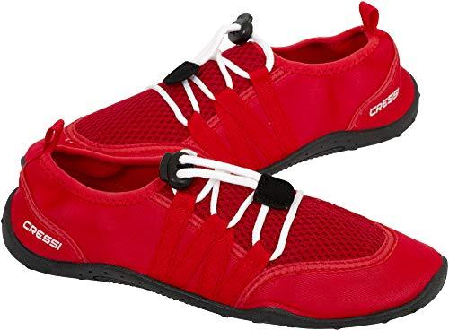 Cressi Elba Pool Shoes Zapatillas Chanclas Unisex Adulto, Rojo,...