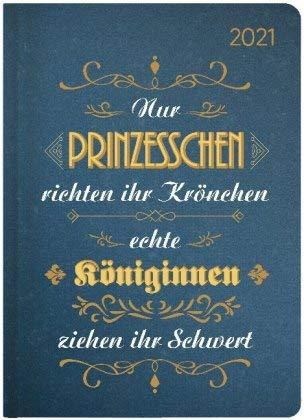 Ladytimer Vintage - Taschenkalender A6 - Kalender 2021 - Alpha Edition-Verlag - Eine Woche auf 2 Seiten - Buchplaner mit Lesebändchen und Platz für Notizen - Format 11 cm x 14,8 cm