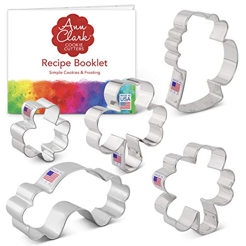 5-Piece St. Patrick's Day Cookie Cutter Set