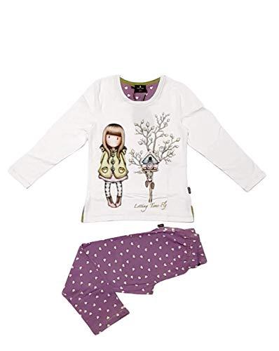 SANTORO LONDON - Pijama Gorjuss Santoro Niña Algodón Niñas Color: Crudo Talla: 10