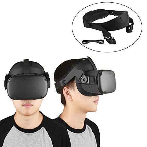 Eyglo Head Pad für Oculus Quest Headset Headband Head Strap Kopfdruck reduzieren Komfortable Berührung Oculus Quest VR-Zubehör