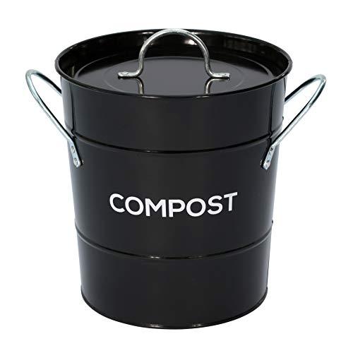 Eddingtons Kompost Eimer schwarz