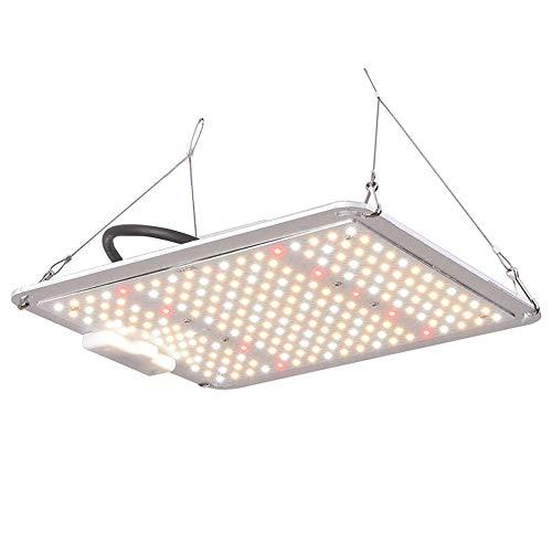 SUNSHIN Lampe de Croissance des Plantes LED, Plein Soleil Spectre Complet, 110W Lampe de Croissance des Plantes, 218 LEDs, 300 * 240 * 53 (mm) pour différentes Croissance des Plantes d'intérieur
